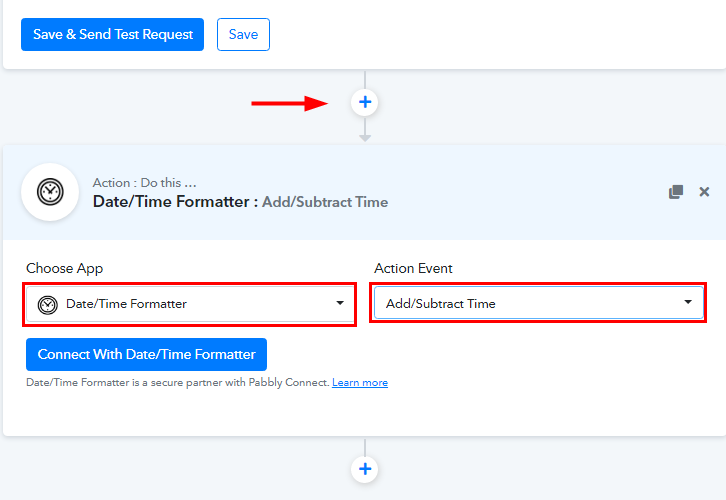 Select Date/Time Formatter for Acuity Scheduling to ClickUp Integration