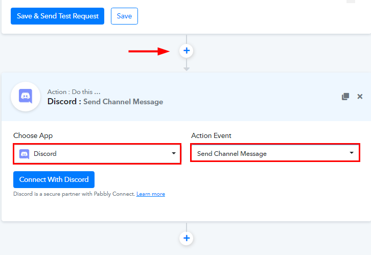 Select Discord for Google Sheets to Discord Integration