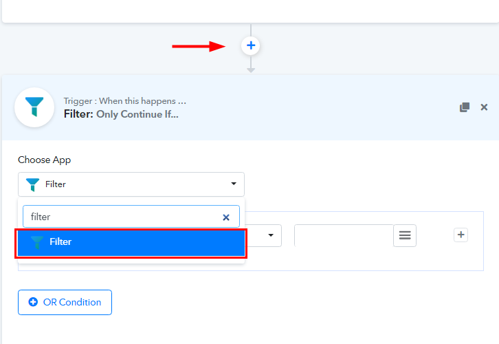 Select Filter for GitLab to ClickUp Integrations