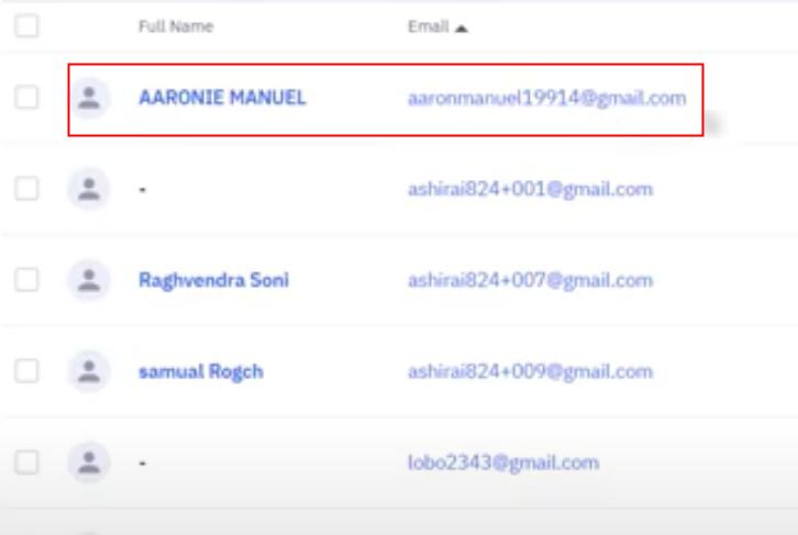 Check Response in ActiveCampaign Dashboard
