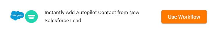 Clone Template Salesforce and Autopilot