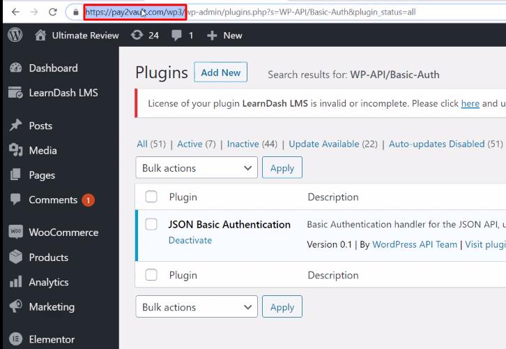 Copy Base URL WordPress