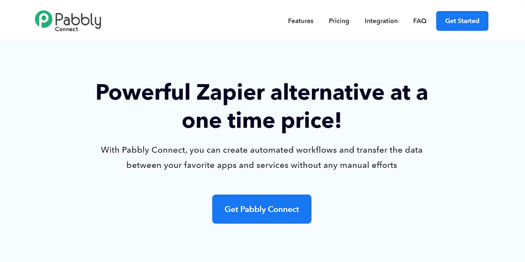 Onetime Payment Plan   Pabbly Connect