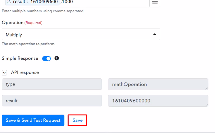 Save the API Response Number Formatter