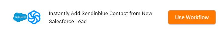 Clone Template Salesforce and Sendinblue