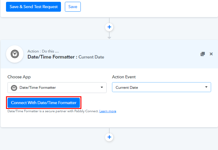 Connect Date/Time Formatter