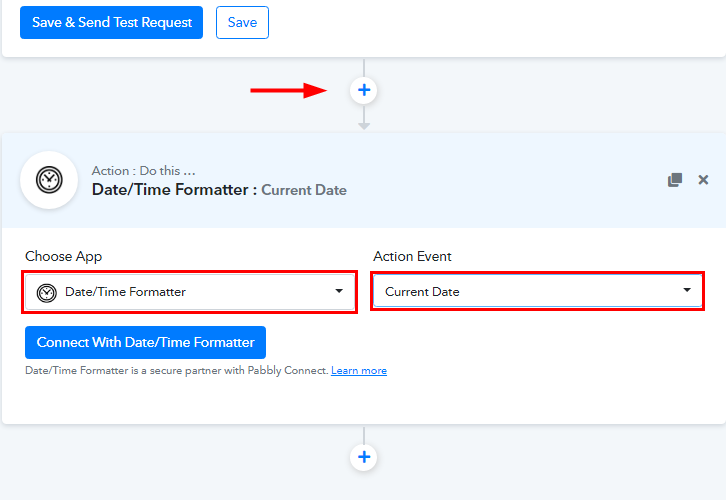 Select Date/Time Formatter for Google Sheets to WhatsApp Integration