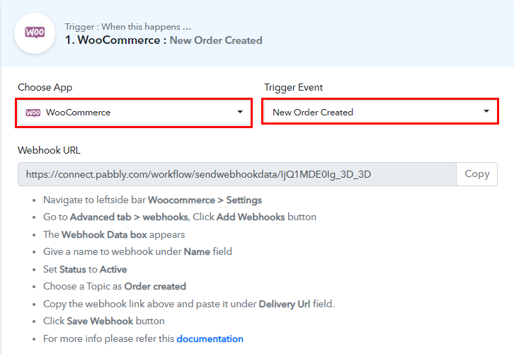 Select WooCommerce for WooCommerce to WhatsApp Integration