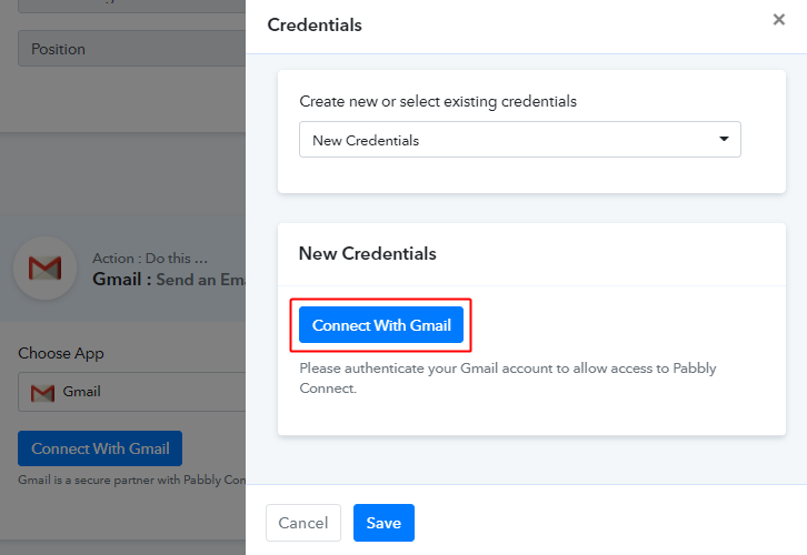 Authorize Gmail Account for Google Sheets to Gmail Integration