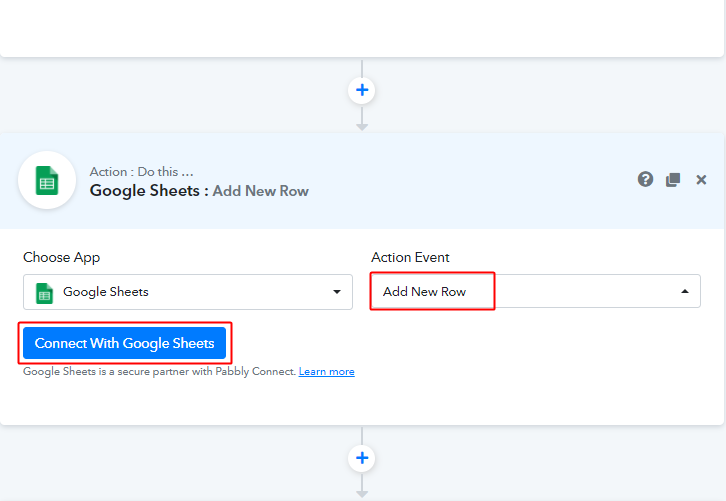 Connect with Google Sheets for Elementor to Google Sheets