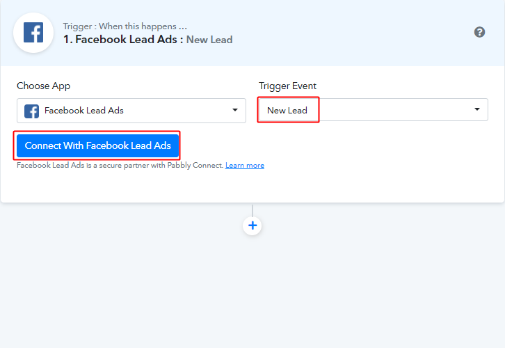 Connect_with_facebook_lead_ads_for_facebook_to_google_sheets