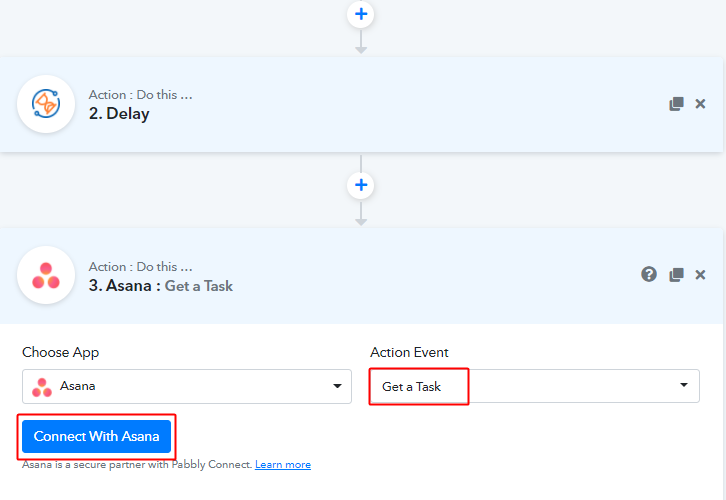 Get a Task for Asana to Google Sheets