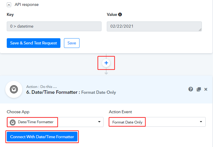 Integrate Date Time Formatter for Birthdate for Google Sheets to WhatsApp Integration