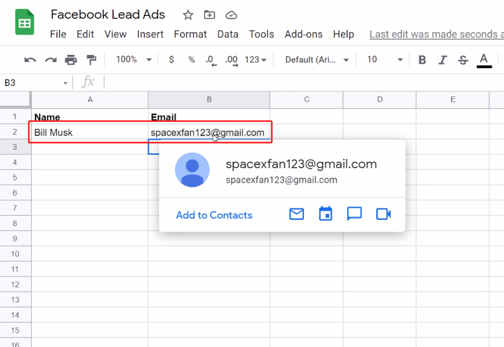 action_response_on_google_sheets_for_facebook_to_google_sheets