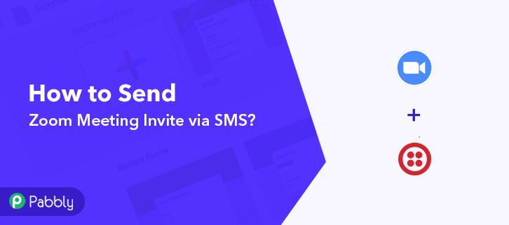 How to Send Zoom Meeting Invite via SMS