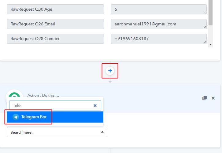 Integrate Telegram to Send JotForm Submissions to Telegram Account