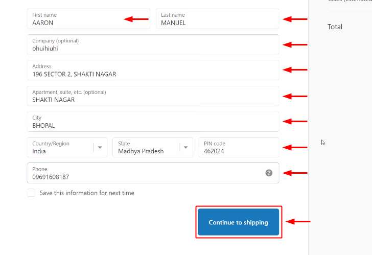Make Test Order to Notify Your Team Members about New Shopify Orders