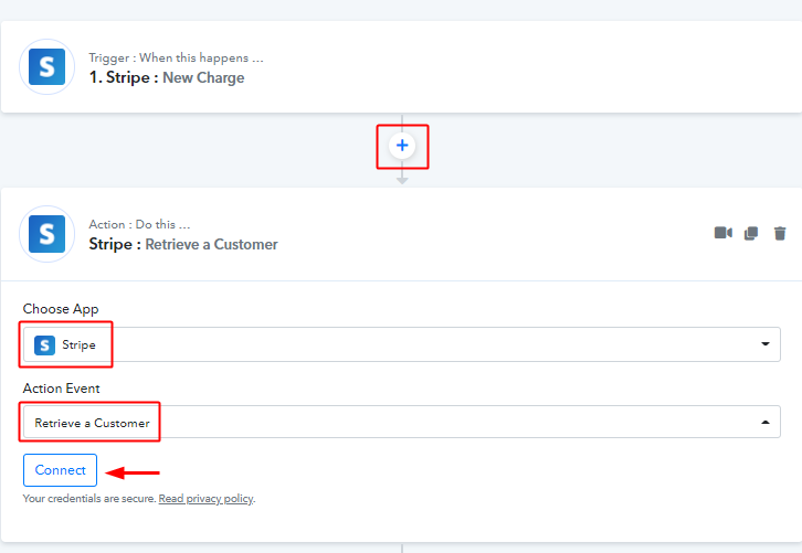 Retrieve a Customer to Notify Team Members about Stripe Payments