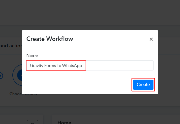 Workflow to Send WhatsApp Message on New Form Submission